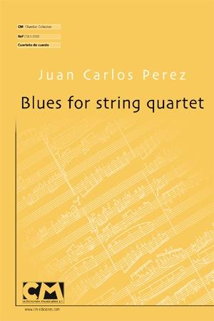 Blues for string quartet