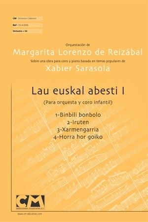 Lau Euskal abesti I (V.Orquesta)