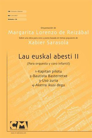 Lau Euskal abesti II (V.Orquesta)