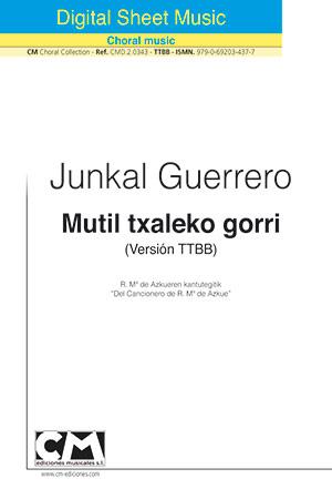 Mutil txaleko gorri (V. TTBB)